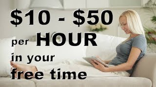 How to Earn Today $10 - $50 Per Hour Writing Online 2018