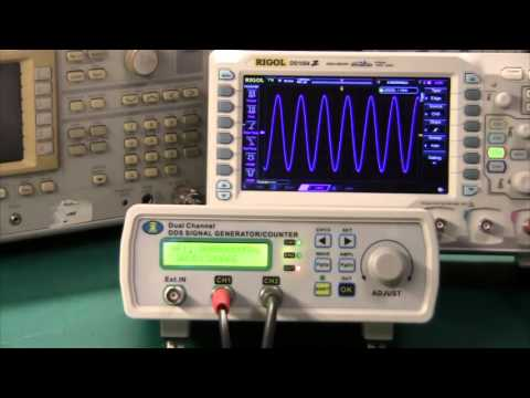 Review of MH Instek MHS-5400A Dual-Channel DDS Function Signal Generator