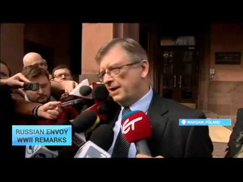 Russia's ambassador in Warsaw, in trouble over WWII comments. On Monday, September 28, Sergey Andreyev retracted remarks blaming Poland for the Nazi invasion in 1939 and outbreak of the Second...