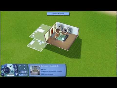Посмотреть ролик - Blueprint Mode! - The Sims 3: Patch 1.42.