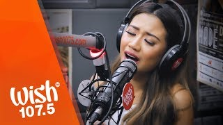 "Morissette performs ""Never Enough"" (The Greatest Showman OST) LIVE on Wish 107.5 Bus"