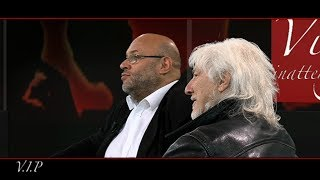 Hugues Aufray et Bertrand Dicale