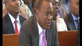 President Uhuru Kenyatta Sings Munduiriri almost s