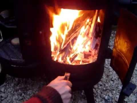 GAS BOTTLE OVEN WOOD BURNING STOVE