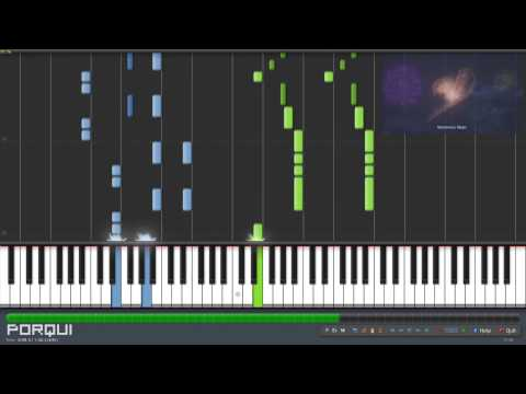 Fairy Tail Opening 17 - Mysterious Magic (synthesia) video