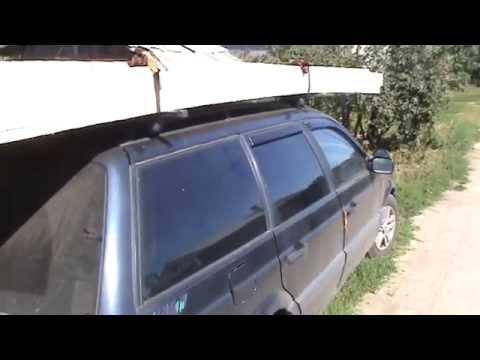 Багажник на крышу пассат б3 универсал своими руками 87
