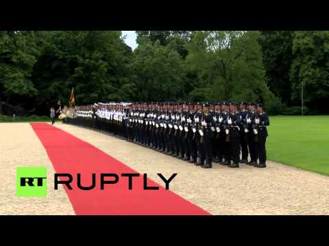 Germany: Egypt's el-Sisi meets Gauck at Berlin's Bellevue Palace