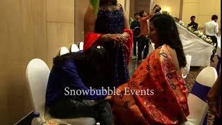 Nail Art  Wedding Reception The Retreat Hotel Mumbai Snowbubble Events