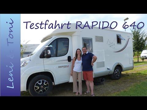 Leni & Toni follow us around: RAPIDO 640 F | unser neuer Wohnmobil-Test | 1. TEIL