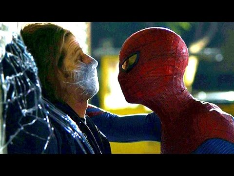 The Amazing Spider-Man - Car Thief Scene - Movie CLIP HD