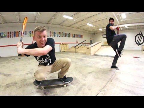Skateboarding Baeball! / Warehouse Wednesday
