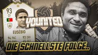 FIFA 19: YOUnited ICON Eusebio #4 - Die schnellste Folge Ever! (leider) 😂