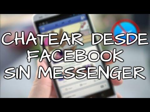 CHATEAR desde Facebook SIN Messenger en Android 2015