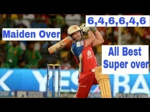 2018 Best super overs in cricket history  MAIDEN SUPER OVER INCLUDED mp4