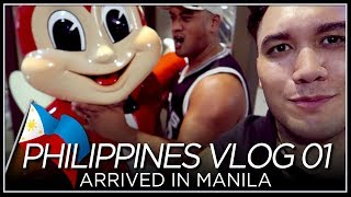 Arrived in Manila - PHILIPPINES VLOG 01 [2018]