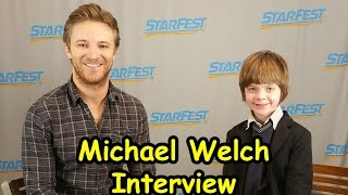 Michael Welch Interview at Starfest | ActOutGames