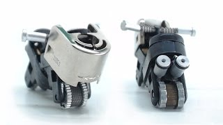 Mini motorbike from a lighter, how it's done