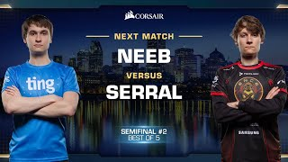 Neeb vs Serral PvZ - Semifinals - WCS Fall 2019 - StarCraft II