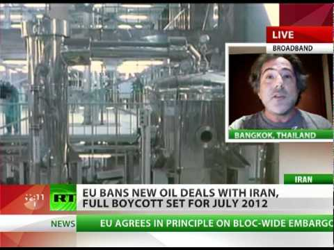 Escobar: EU needs Iran's oil, shoots itself in foot
