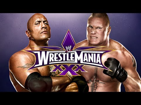 Game | WWE 2K14 The Rock vs Brock Lesnar at Wrestlemania 30 Epic Match | WWE 2K14 The Rock vs Brock Lesnar at Wrestlemania 30 Epic Match
