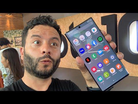 Samsung Galaxy Note 10 ve Note 10 Plus elimizde (Dünyadaki ilk inceleme videolarından biri 🔥✌🏻)