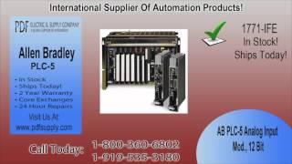 1771-IFE   Allen Bradley PLC-5   In Stock! Call 800.360.6802