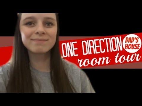 One Direction Room Tour (Dads House) | MeganLovesBieber8