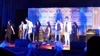 Dhaka nursing  college group danse 2016
