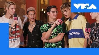 PRETTYMUCH Share Their Favorite VMA Moment | 2018 Video Music Awards