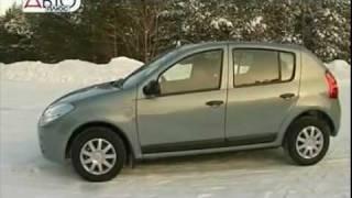 Тест-драйв Renault Sandero #1 Часть 2