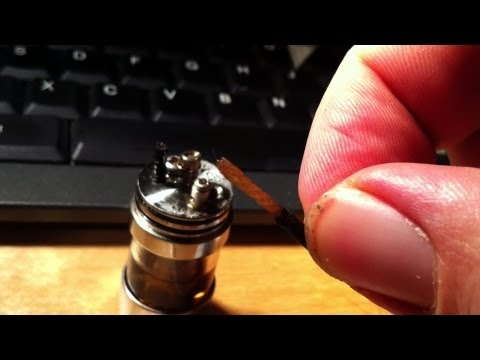 Double Wicking? Silica inside Stainless.
