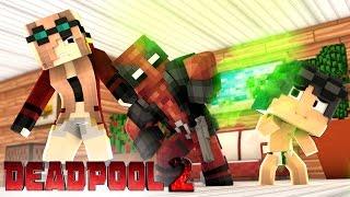 Minecraft: Who's Your Family? - A FAMILIA RETARDADA DO DEADPOOL 2 ! [ WIIFEROIZ ]