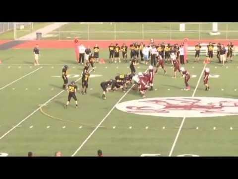 Graycen Carter 2012 Aquinas Institute Freshman Football #28