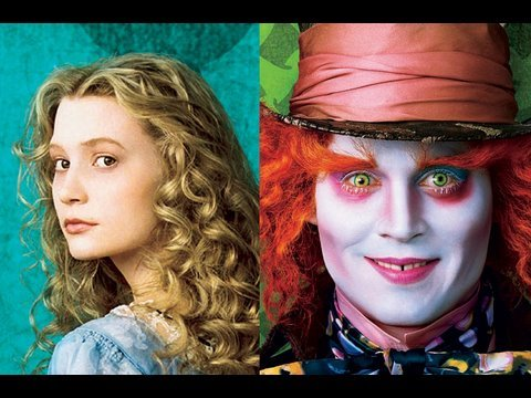 Johnny Depp in Alice in Wonderland - Movie Photos Tim Burton Video