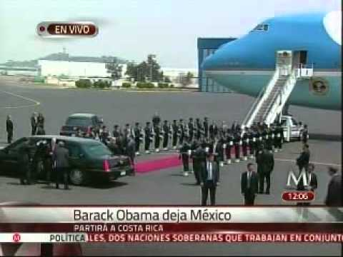 Barack Obama dice adis a Mxico