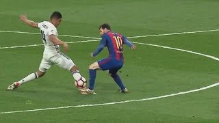 Lionel Messi Destroying Real Madrid 2017 HD