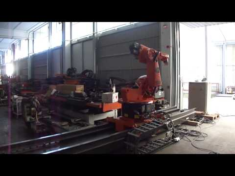 KUKA robot KR30 with KRC2 controller on a KL1500 linear track – part 1