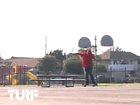 ON THE TURF w/ ANDRE GENOVESI - NOLLIE HEEL PICNIC TABLE ON FLAT