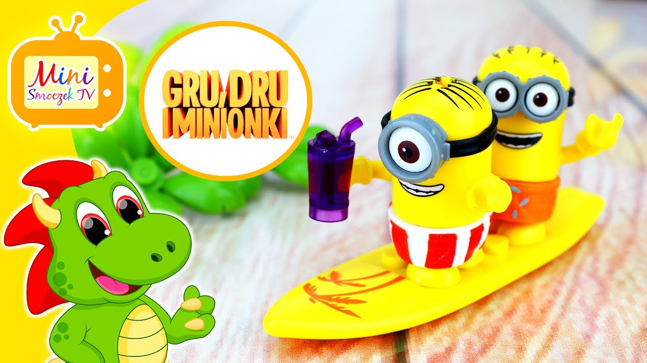Gru Dru i Minionki Zabawki Mega Bloks Wakacyjna Niespodzianka Filmik Dla Dzieci PO POLSKU
