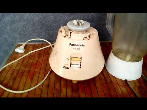 HOW TO REPAIR YOUR HOME KITCHEN BLENDER PART 1