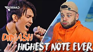 The Most INSANE High Note I Have Ever Heard !  |  Dimash - An Unforgettable Day Reaction
