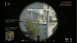 Battlefield Play4free Sniper Kills [ M82A3 (Balistic scope) / M95 (Balistic Scope) ]