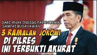 GIL4 BROOO!!! 3 Ramalan Soal Jokowi di PILPRES Ini Terbukti Akurat