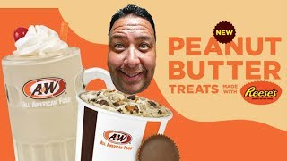 A&W Restaurants® REESE'S POLAR SWIRL REVIEW!