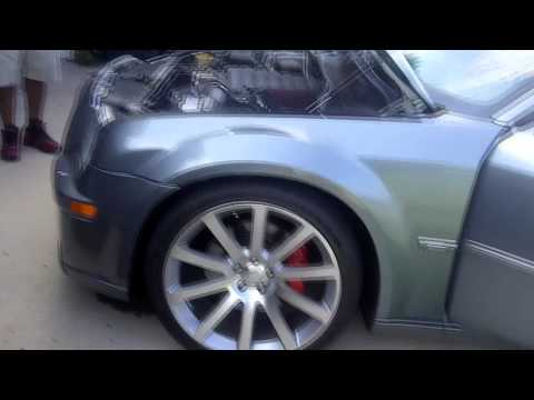 My Supercharged Chrysler 300 SRT8 with 22 inch SRT Replicas