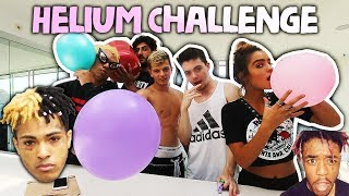 HELIUM SONG LYRIC CHALLENGE!! (ft. Sommer Ray & FaZe Nikan)