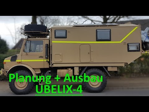 Unimog 1300L Planung, Aufbau von UBELIX-4
