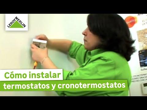 Instalar termostatos y cronotermostatos leroy merlin youtube - Toile de paillage leroy merlin ...