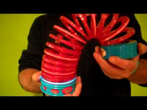 Electronic Slinky Toy Fully Interactive With Light & Sound! Toy Review by Mike Mozart TheToyChannel