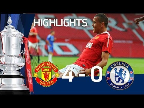 Manchester United 4-0 Chelsea (Agg 6-3) - FA Youth Cup Semi Final - 20-04-11